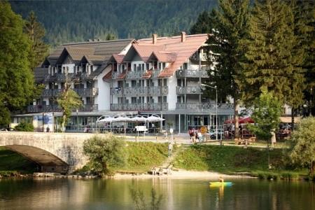 Jezero - Slovinsko v červenci