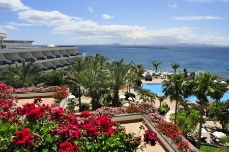 Tui Blue Natura Palace - Lanzarote se snídaní v říjnu - luxusní dovolená