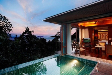 Phi Phi Island Village, Phi Phi, Katathani Resort, Phuket - Pláž Kata, Centara Grand Beach Resort, Krabi - Pláž Pai Plong