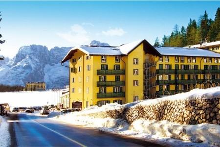 Grand Hotel Misurina - v únoru