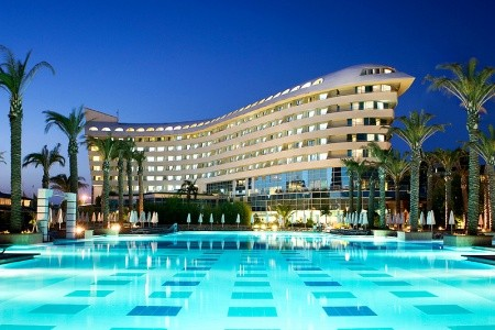 Concorde Deluxe Resort - Antalya na podzim - Turecko