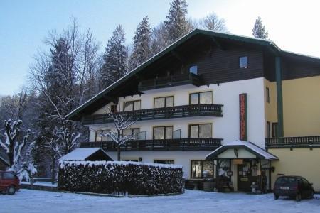 Gasthof Pfandl - v březnu