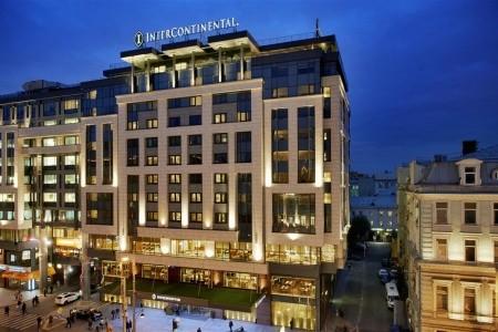 Intercontinental Moscow Tverskaya Snídaně
