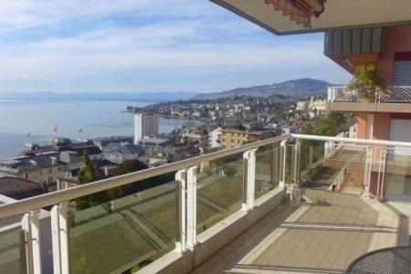 Montreux - Panorama - Ženeva - Švýcarsko