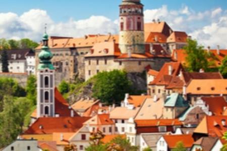 Český Krumlov - krásný zámek i historické centrum