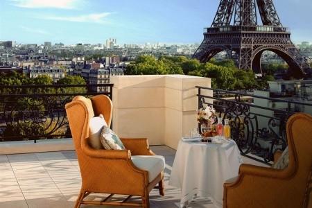 Shangri-La Paris - Francie letecky