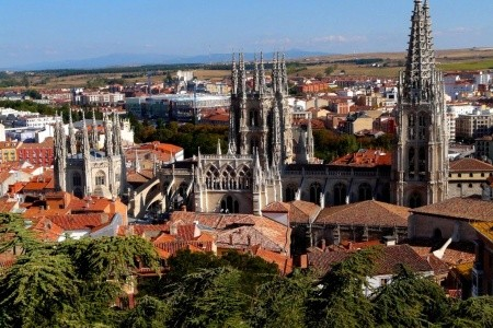 Svatojakubská cesta, Burgos, Ávila - Dovolená Madrid 2021/2022