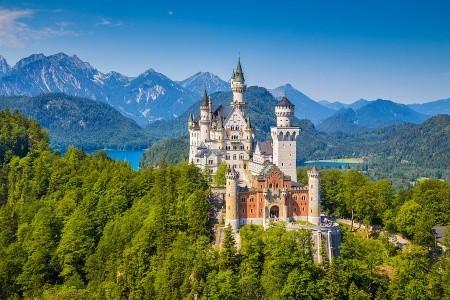 To nejlepší z Bavorska + ZÁMEK NEUSCHWANSTEIN (aut - Mnichov - Německo