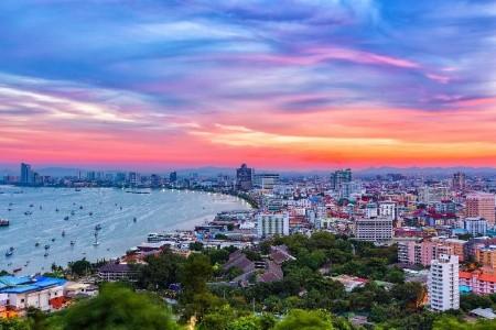 Sunshine Garden, Pattaya, Bangkok Palace Hotel, Bangkok - Hotely