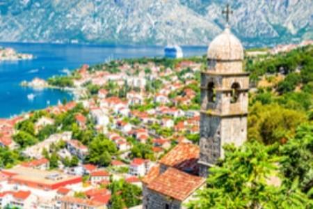 Stredoveké mesto Kotor v Čiernej Hore