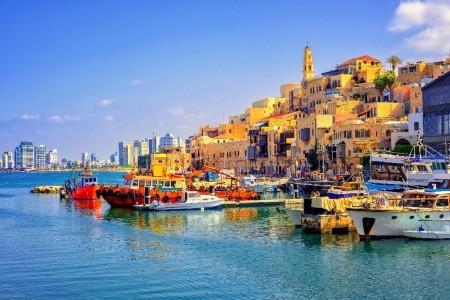 Mrtvé moře a metropole Izraele Polopenze
