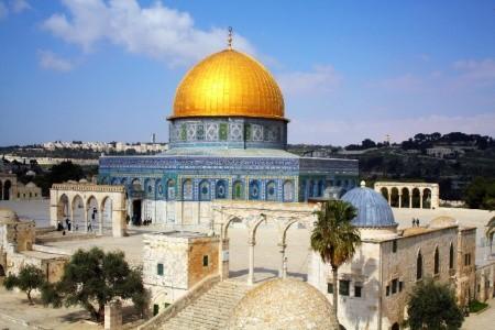 Velký okruh Izraelem Polopenze