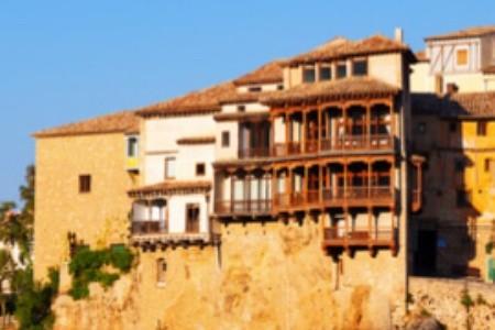 Cuenca v Španielsku - mesto, kde visia domy nad priepasťou