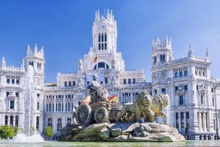 Madrid a Toledo letecky - Španělsko v dubnu