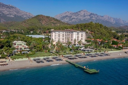 Kilikya Çamyuva (Ex. Elize Beach Resort), Turecko, Kemer