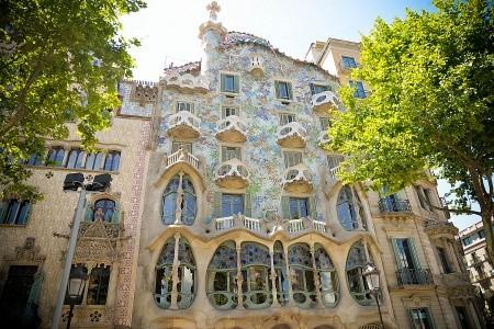 To nejlepší z Barcelony + BAREVNÝ SVĚT ANTONI GAUDÍHO (letec - Barcelona v létě - Španělsko