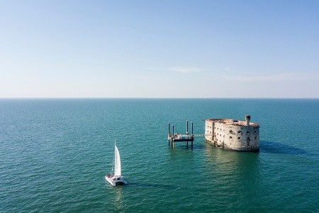To nejlepší z La Rochelle + BORDEAUX + PEVNOST BOYARD (letec - Bordeaux - Francie