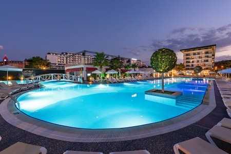 White City Resort - Turecká Riviéra v létě - Turecko