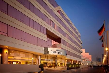 Spojené arabské emiráty Dubaj Jumeirah Rotana 8 dňový pobyt Raňajky Letecky Letisko: Viedeň september 2021 (22/09/21-29/09/21)