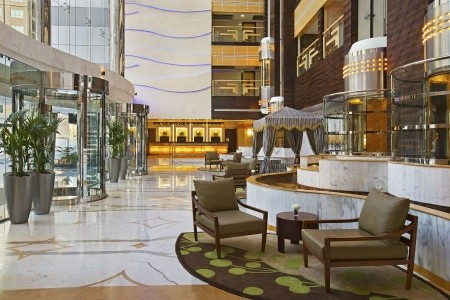 Spojené arabské emiráty Dubaj Doubletree By Hilton Al Barsha 8 dňový pobyt Raňajky Letecky Letisko: Praha september 2021 (29/09/21- 6/10/21)