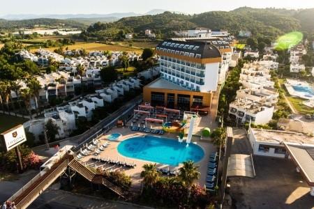 Throne Beach Resort - Turecko letecky z Vídně All Inclusive