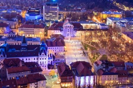 Nejlevnější Lublaň - Slovinsko