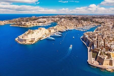 To nejlepší z Malty + OKRUŽNÍ JÍZDA OSTROVEM GOZO  - v dubnu