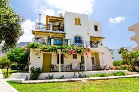 Apartmány Sergiani - Řecko v červnu