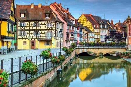 Alsasko, Burgundsko, Lotrinsko 2021 - Alsasko - levně - Francie