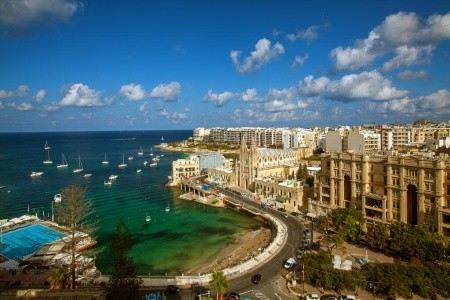 Marriott Malta - Malta 2021 - luxusní dovolená