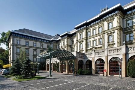 Danubius Grand Margitsziget - Maďarsko v lednu