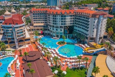 Turecko Alanya Leodikya Resort 8 dňový pobyt Ultra All inclusive Letecky Letisko: Bratislava júl 2021 (28/07/21- 4/08/21)