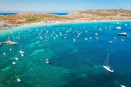 Relax na plážích Malty + MODRÉ POKLADY OSTROVA + D - v srpnu