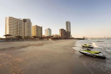 Spojené arabské emiráty Ajman Ramada By Wyndham Beach 6 dňový pobyt Plná penzia Letecky Letisko: Viedeň október 2021 (17/10/21-22/10/21)