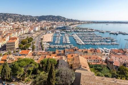 Francie - Azurové pobřeží LETECKY