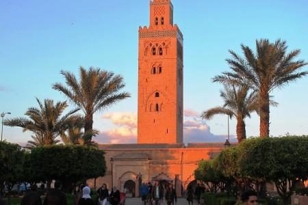 Velký okruh Marokem - letecky Snídaně