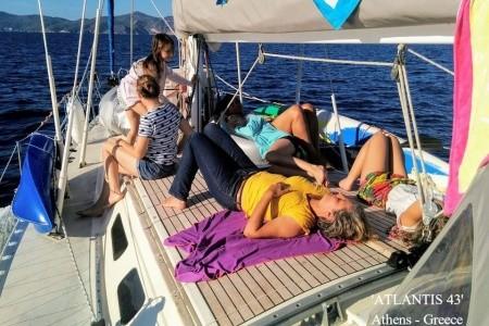 Naturistická Plavba Mezi Řeckými Ostrovy Pro Jednotlivce - Ubytování