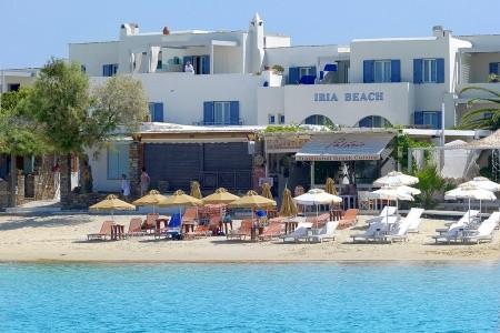 Iria Beach - Naxos letecky - Řecko