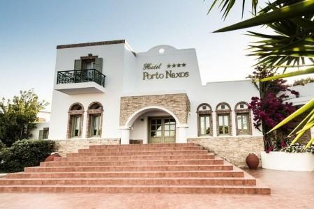 Porto Naxos - Naxos letecky - Řecko