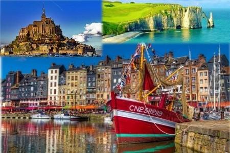 Paříž - Normandie - Bretaň