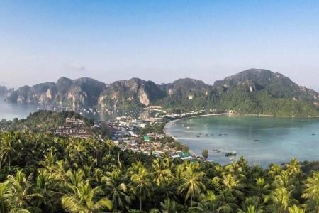 Phi Phi Cabana Resort, Phi Phi - Pláž Ton Sai, Patong Beach Hotel, Phuket - Pláž Patong, Lanta Sand Resort, Ko Lanta