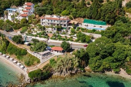 Aurora Beach - Korfu v srpnu - Řecko