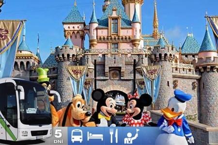 5-Dňový Zájazd Do Disneylandu V Paríži - Autobusem
