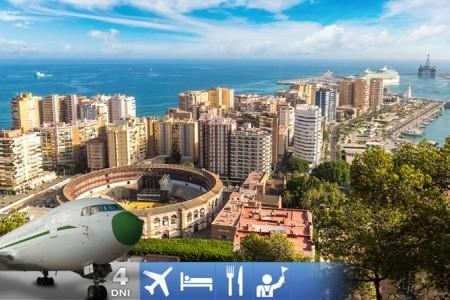 Malaga - Mesto, Ktoré Nikdy Nespí - Španělsko v květnu