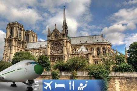 5-Dňový Letecký Zájazd Do Paríža - Francie v květnu