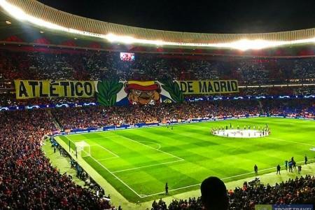 Vstupenka Na Atletico Madrid - Valencia - Španělsko v lednu