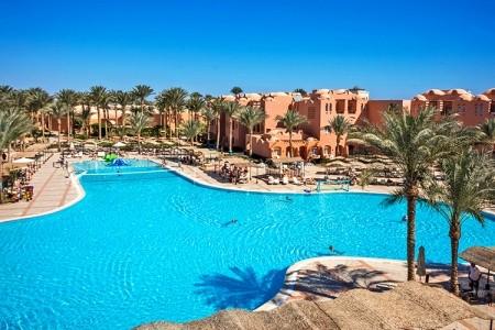 Jaz Makadi Oasis - Hurghada v únoru - Egypt