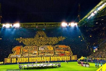 Vstupenka Na Borussia Dortmund - Eintracht Frankfu - Dortmund - Německo
