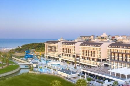 Diamond De Luxe Hotel & Spa - Turecko letecky z Vídně - recenze