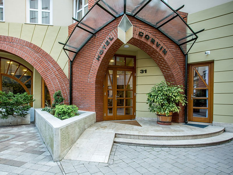 Corvin Hotel Budapest-Sissi wing
